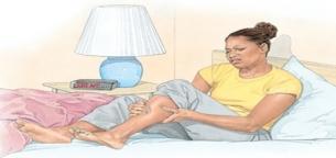 گرفتگی عضلات در خواب و درمان آن