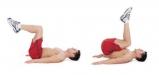 کرانچ معکوس تقویت عضلات شکم