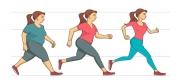 اینفوگرافی: نکته در مورد دویدن و کاهش وزن