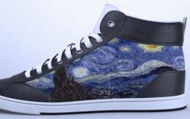 کفش کتانی که می توانید رنگ و طرح آن را تغییر دهید