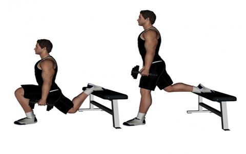 split squat برنامه جذاب و جالب و خوب اسپورت و ورزشی مؤثر و همچنین با نتایج سریع که تنها و فقط به پله مستلزم و نیاز دارد
