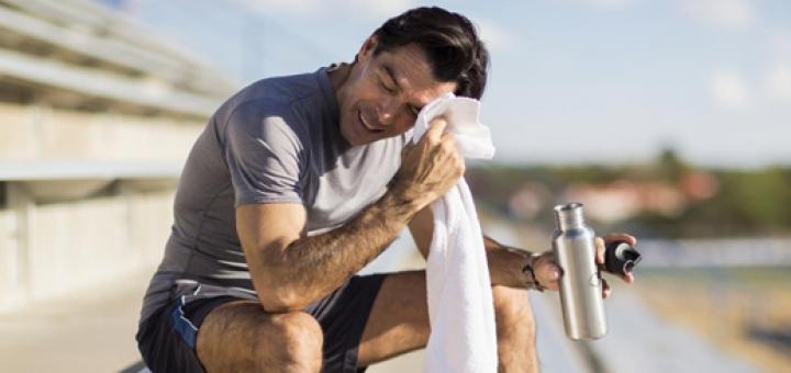 عرق کردن در ورزش نشانه چیست و چرا هنگام ورزش عرق نمی کنید؟